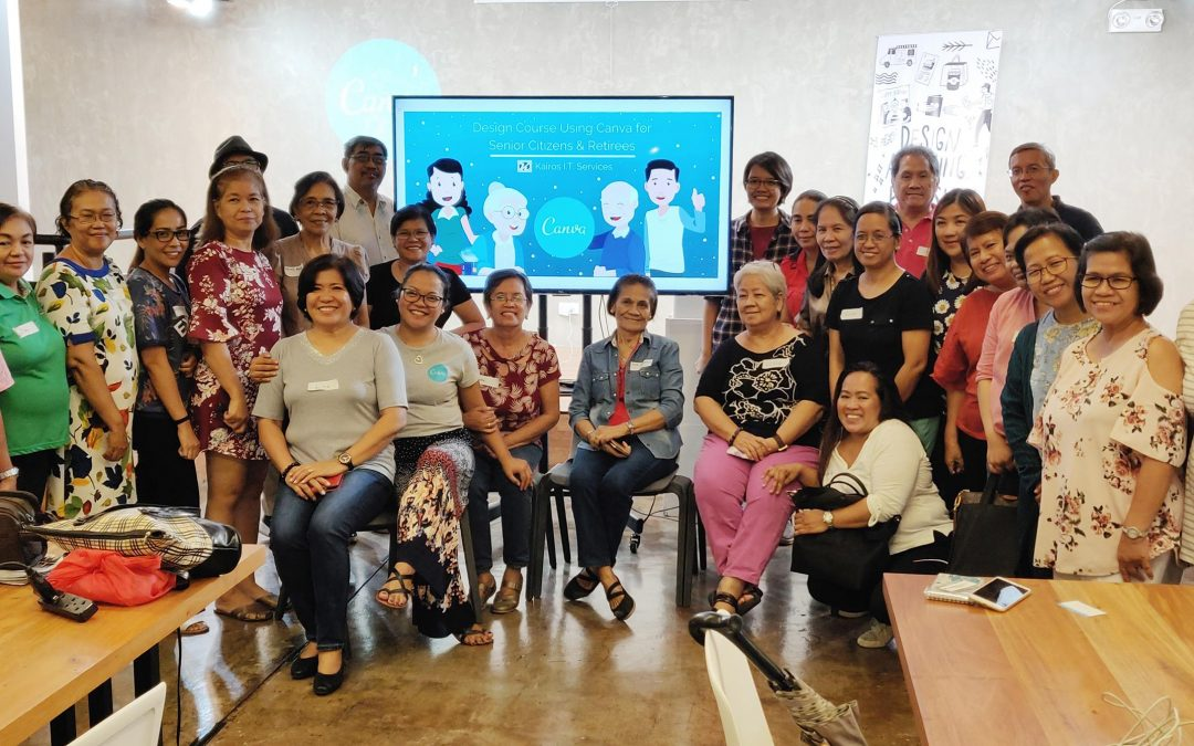 A Third Run: Design Course for Senior Citizens and Retirees