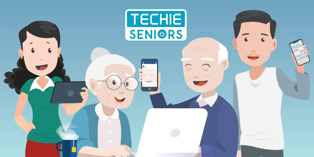 How Techie Senior Citizens Motivated Me as an Elderly