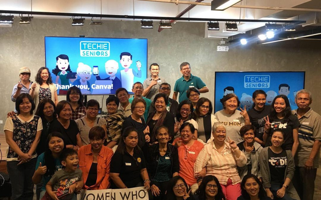 Blogging 101: From Techie Senior Citizens to Responsible Digital Senior Citizens