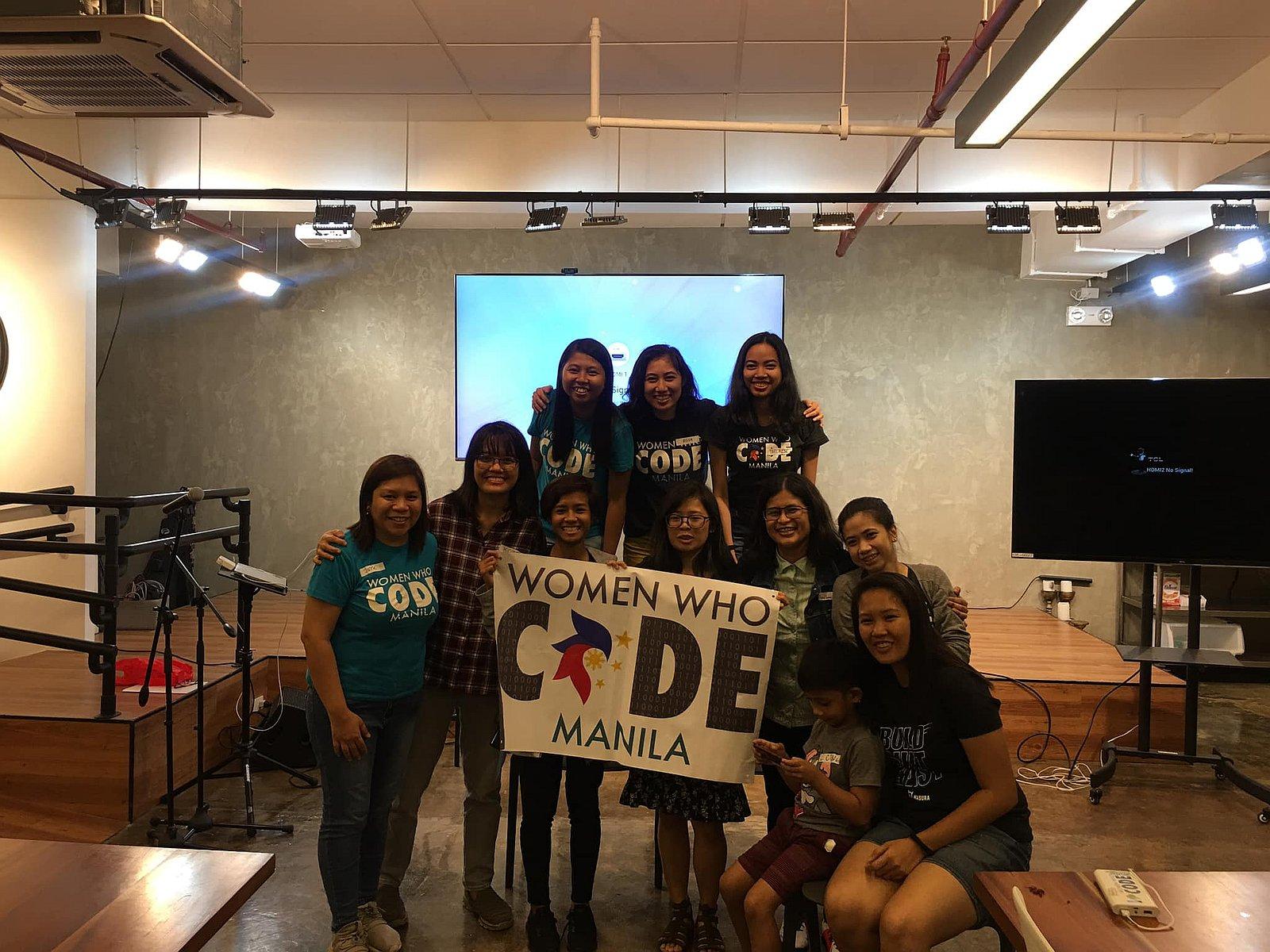 Koree with Women Who Code Manila
