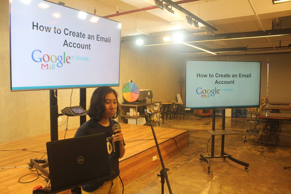 Rosalie on creating a Gmail account