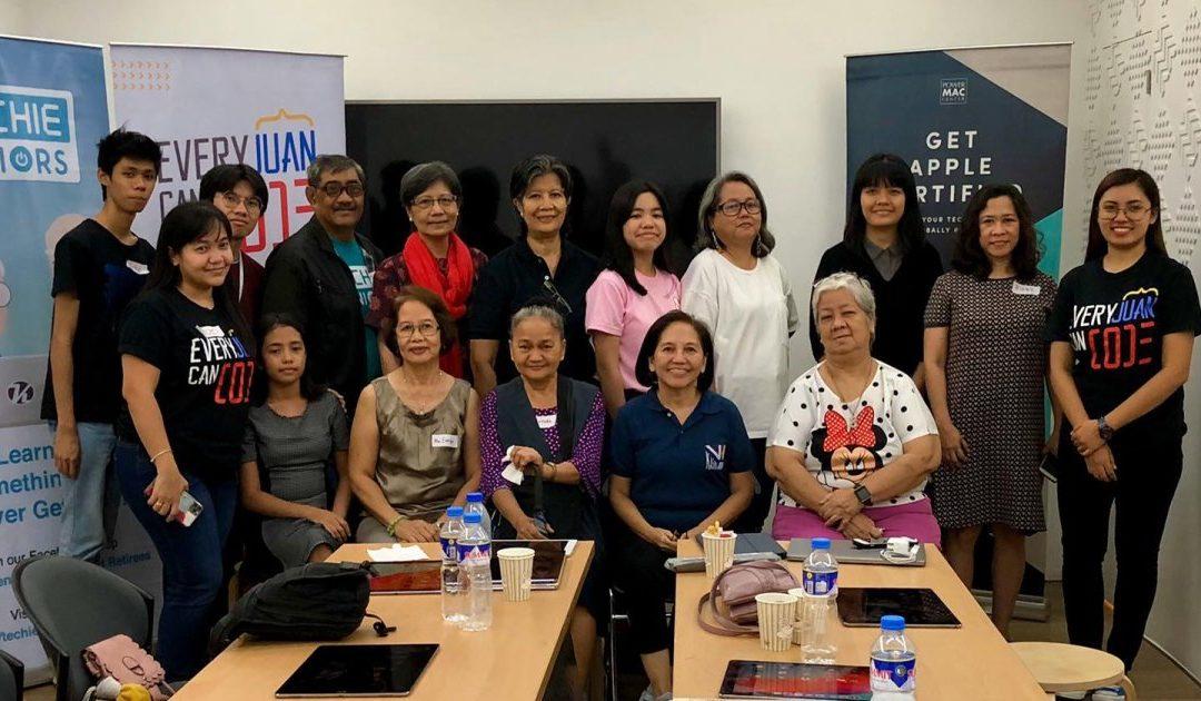 Filipino Seniors Take a Shot at Coding with Block Programming